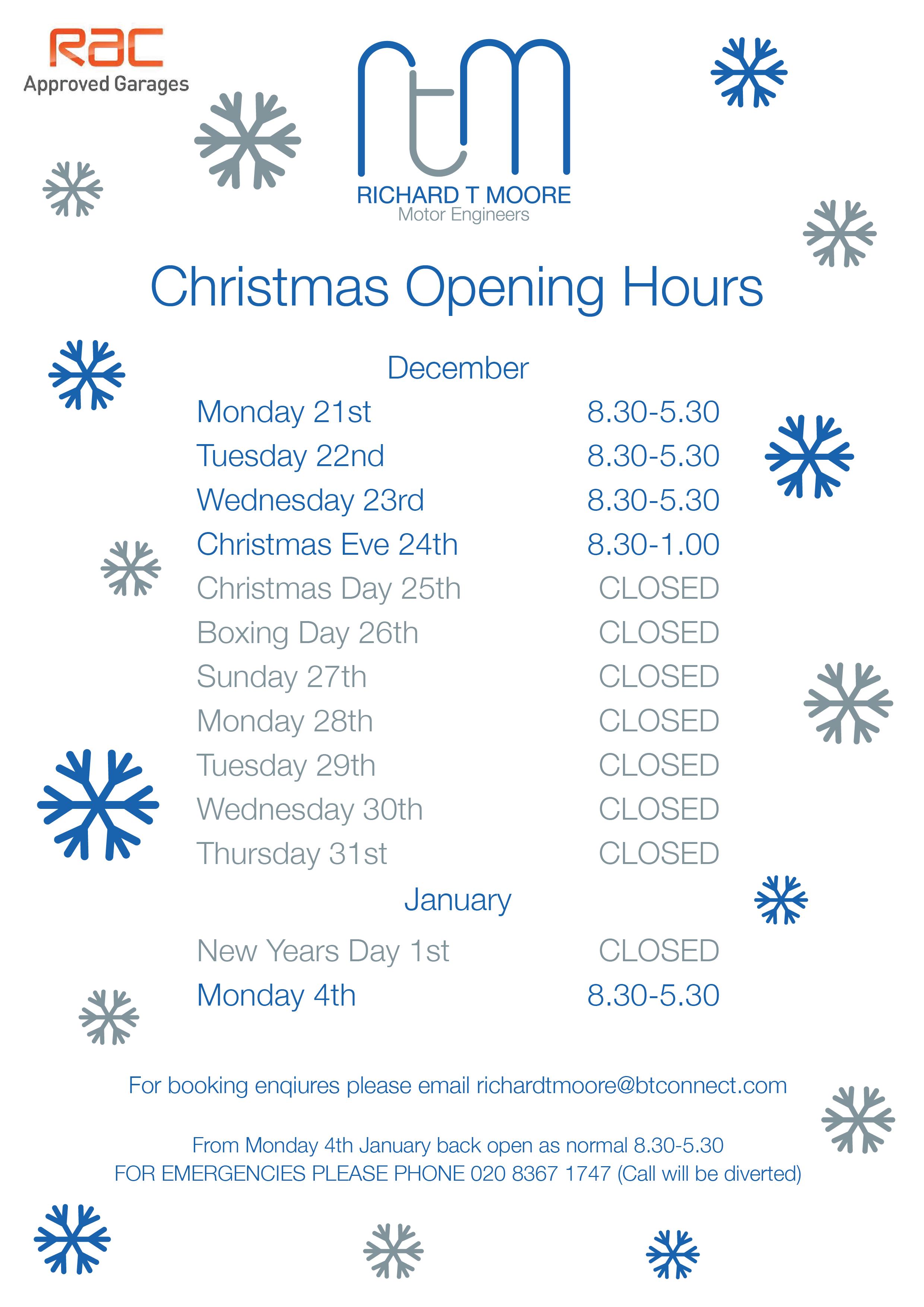 Days Till Christmas Uk.Only 7 Days Till Christmas Richard T Moore